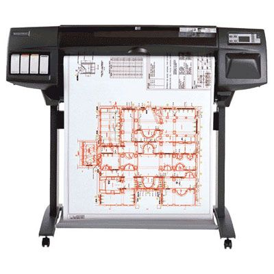 Принтер HP DesignJet 1050c plus C6074B
