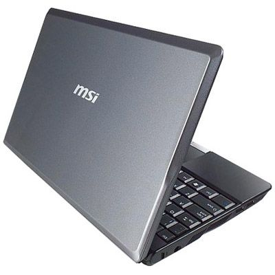 Ноутбук MSI Wind U140-004 Gray