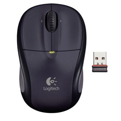 Мышь беспроводная Logitech M305 Dark Silver 910-000941