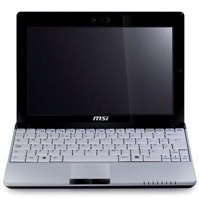 Ноутбук MSI Wind U140-005 White