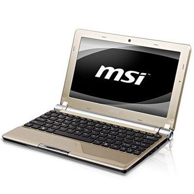 Ноутбук MSI Wind U160-054 Gold
