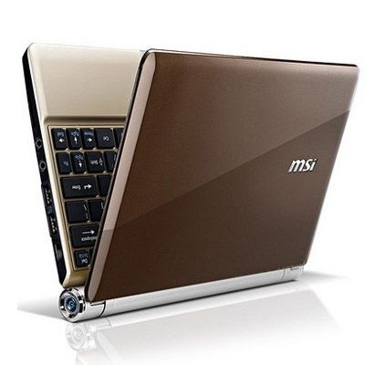 Ноутбук MSI Wind U160-067 Gold