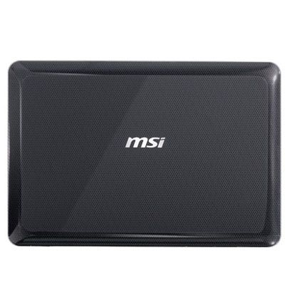 Ноутбук MSI X-Slim X350-256 Black