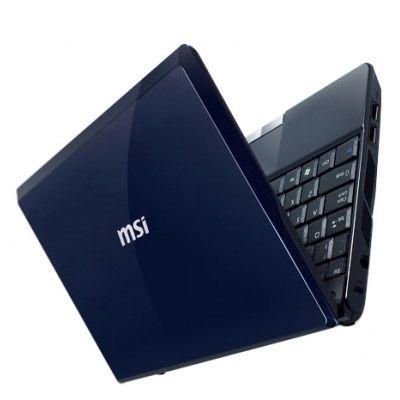 Ноутбук MSI Wind U120-094 Blue
