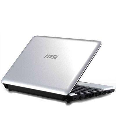 Ноутбук MSI Wind U135-810 Silver