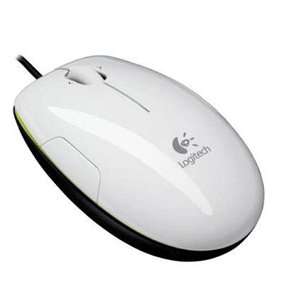 Мышь проводная Logitech LS1 Laser Coconut 910-000865