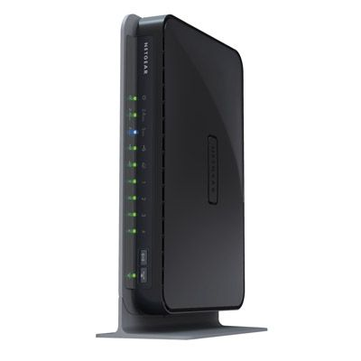 Wi-Fi роутер Netgear 300Mbps WNDR3700-100PES LAN