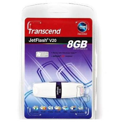 Флешка Transcend 8Gb JetFlash V20 TS8GJFV20