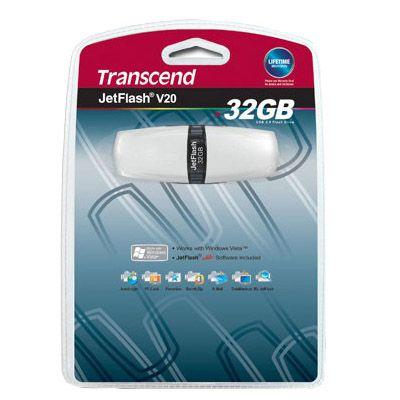 Флешка Transcend 32Gb JetFlash V20 TS32GJFV20