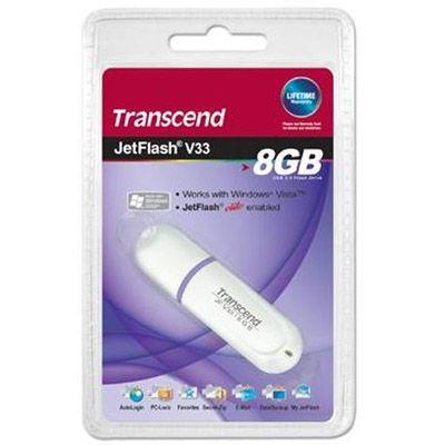 Флешка Transcend 8Gb JetFlash V33 TS8GJFV33