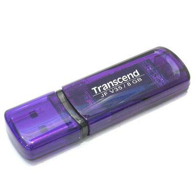 Флешка Transcend 8Gb JetFlash V35 Violet TS8GJFV35