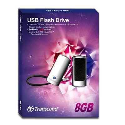 ������ Transcend 8Gb JetFlash V95C Black TS8GJFV95C