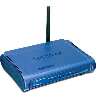 Wi-Fi роутер TrendNet TEW-432BRP 54Mbps LAN