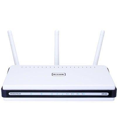 Wi-Fi роутер D-Link DIR-655 300Mbps lan