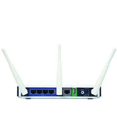 Wi-Fi роутер D-Link DIR-855 300Mbps lan