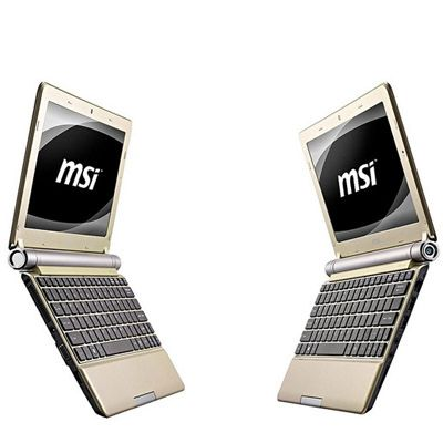 Ноутбук MSI Wind U160-038 Gold