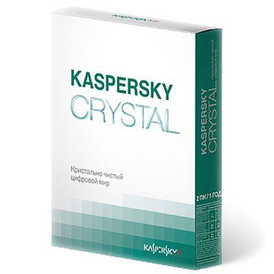 Антивирус Kaspersky crystal