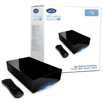 Медиаплеер LaCie LaCinema Classic HD Media Player 1000Gb USB 2.0 301864EK