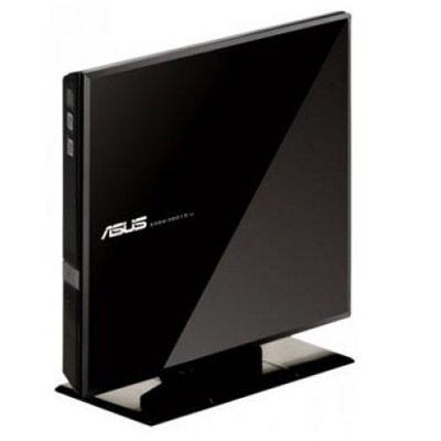 ASUS Внешний привод DVD-RW ext. Black Slim Ret. USB2.0 SDRW-08D1S-U/BLK/G/AS