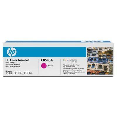 Картридж HP Magenta/Пурпурный (CB543A)