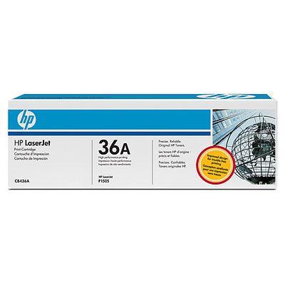 Картридж HP LaserJet Black/Черный (CB436A)
