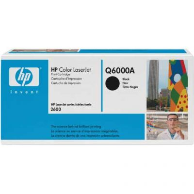 ��������� �������� HP �������� Color LaserJet Black (������) Q6000A