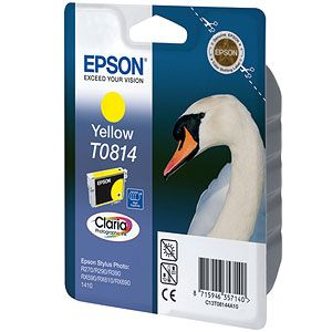 Расходный материал Epson Картридж Yellow (большой емкости) C13T08144A10