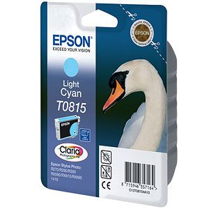Расходный материал Epson Картридж light cyan (большой емкости) C13T08154A10
