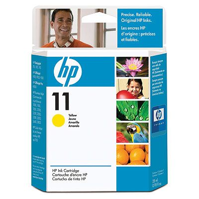 Картридж HP 11 Yellow/Желтый (C4838A)