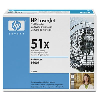 �������� HP Black/������ (Q7551X)