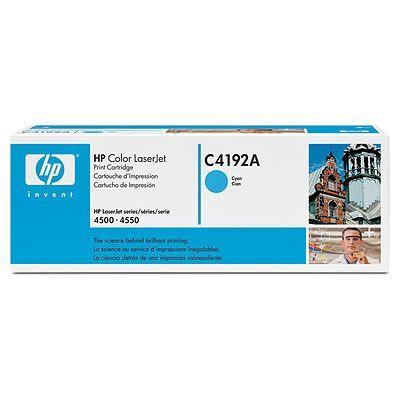 Расходный материал HP Картридж Color LaserJet Cyan (голубой) C4192A