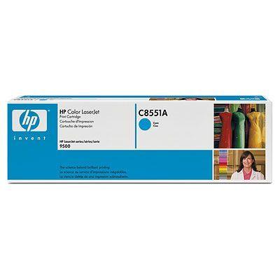Картридж HP Cyan/Голубой (C8551A)