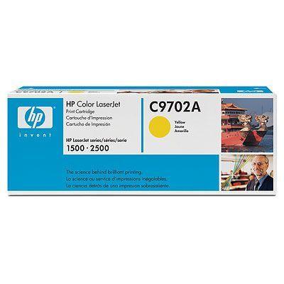 Расходный материал HP Картридж Color LaserJet Yellow (желтый) C9702A