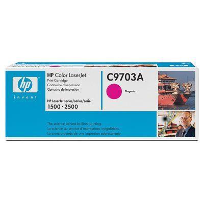 Расходный материал HP Картридж Color LaserJet Magenta (пурпурный) C9703A
