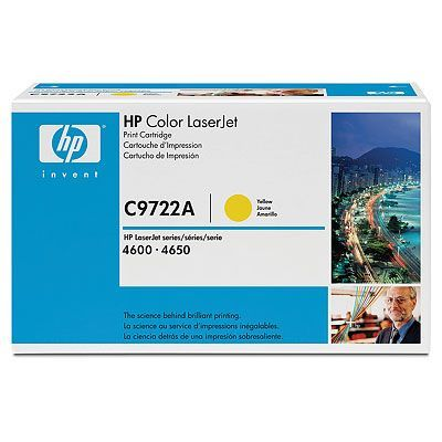 ��������� �������� HP �������� Color LaserJet Yellow (������) C9722A