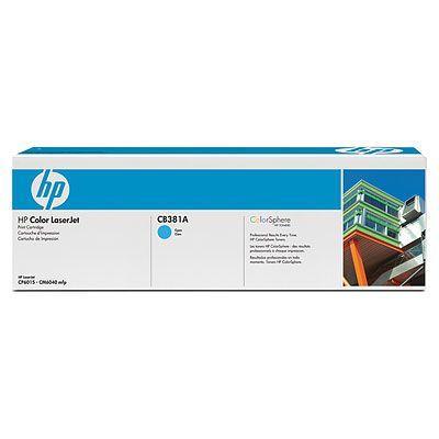 �������� HP Cyan /���������� - ������� (CB381A)