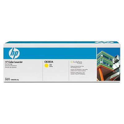 Картридж HP Yellow/Желтый (CB382A)