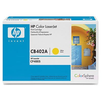 Картридж HP Yellow/Желтый (CB402A)