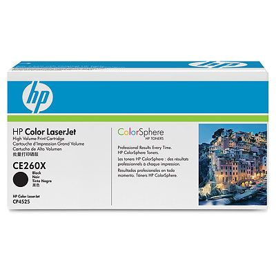��������� �������� HP �������� Color LaserJet Black (������) CE260X
