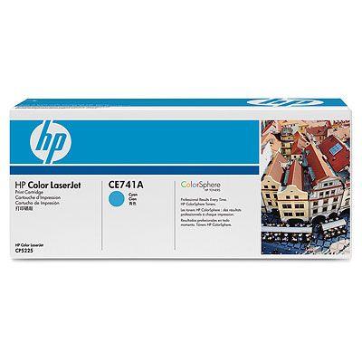 Картридж HP Cyan/Голубой (CE741A)