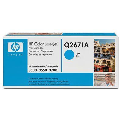 Картридж HP Cyan /Зеленовато - голубой (Q2671A)