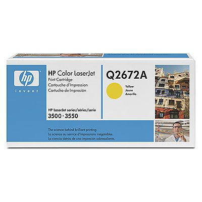 Картридж HP Yellow/Желтый (Q2672A)