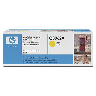 ��������� �������� HP �������� Color LaserJet Yellow (������) Q3962A