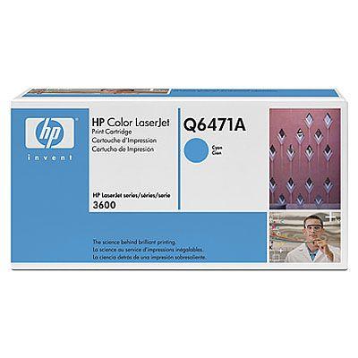 Картридж HP Cyan/Голубой (Q6471A)