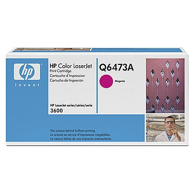 Картридж HP Magenta/Пурпурный (Q6473A)