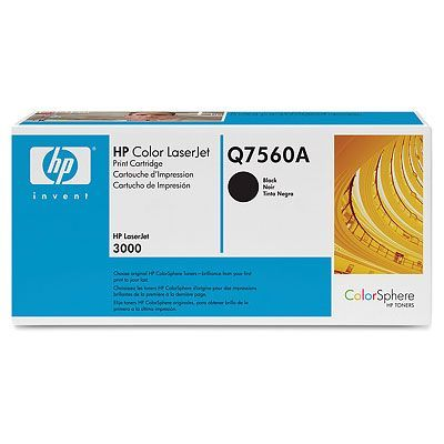 ��������� �������� HP �������� Color LaserJet Black (������) Q7560A