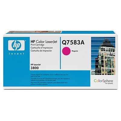 ��������� �������� HP �������� Color LaserJet Magenta (���������) Q7583A