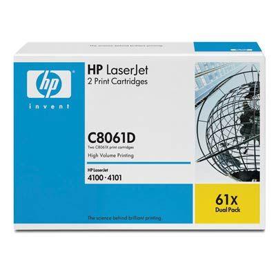 Расходный материал HP Картридж LaserJet Black (черный) C8061D