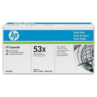 Картридж HP Black/Черный (Q7553XD)
