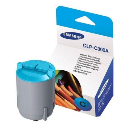 Тонер-картридж Samsung Cyan / Голубой (CLP-C300A/ELS)